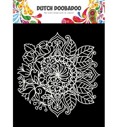 470.715.624 Dutch DooBaDoo Mask Art Mandala met bloem