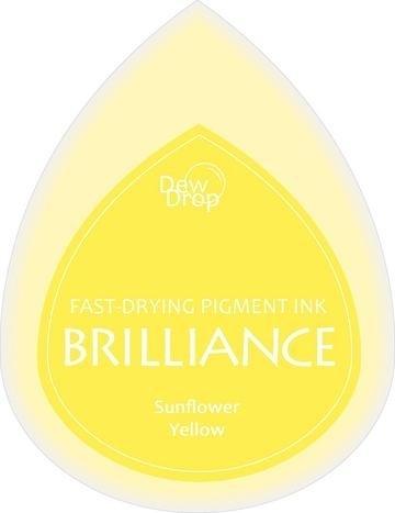 BDIP11 Dew Drops Sunflower Yellow