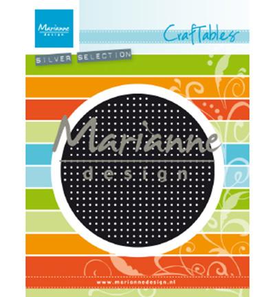 CR1465 Craftable Cross stitch circle