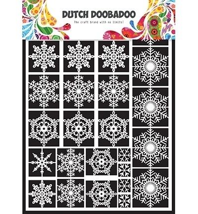 472948003 Dutch Doobadoo Laservel Snowflakes