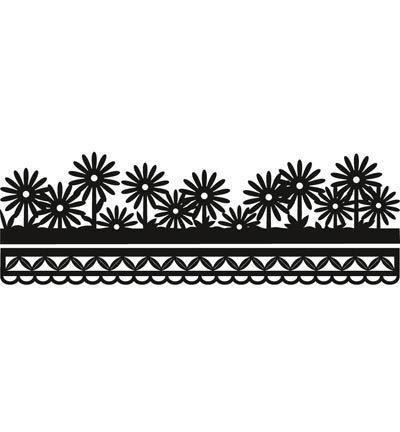 CR1330 - Craftables - Anja's flower border