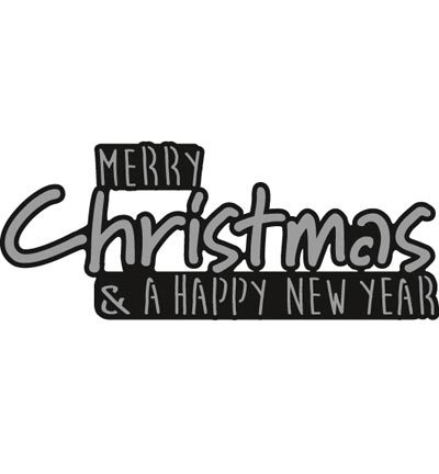 CR1327 - Craftables - Merry CHRISTMAS