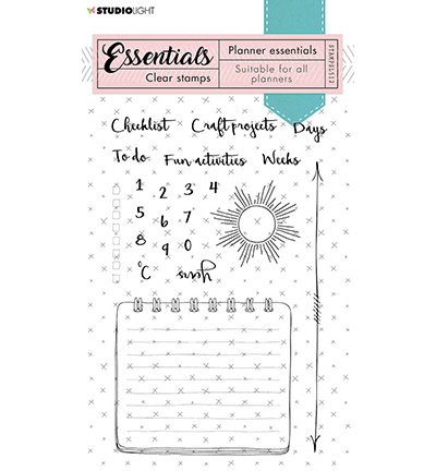 STAMPSL512 Studio Light Clear Stamp Essentials nr.512