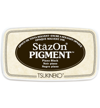 SZ-PIG-31 Tsukineko StazOn Pigment Piano Black