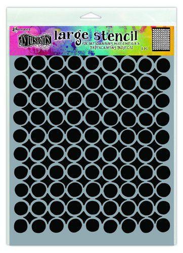 306730/1518 Ranger Dylusions Stencils Martha's Mat