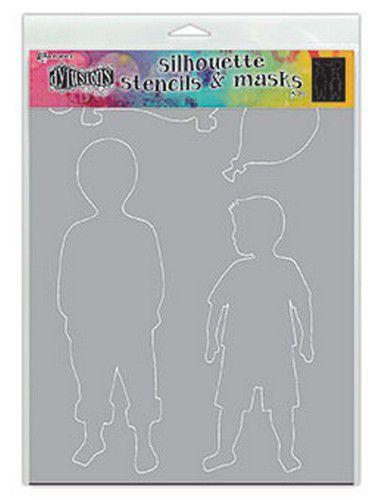 DYS75363 Ranger Dylusions Stencils Silhouette Otis