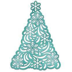 "088368 CottageCutz Elites Dies Snowflake Tree 2.9""X4"""