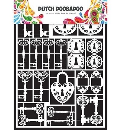 472.948.009  Dutch Doobadoo Laservel Keys