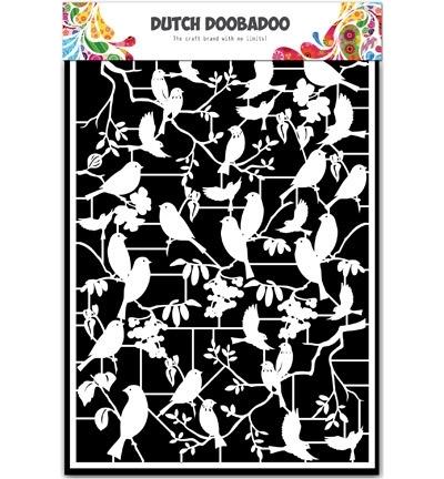 472.948.039 Dutch DooBaDoo Paper Art Birds
