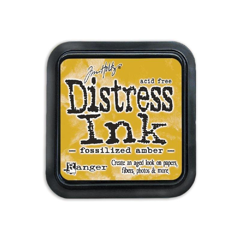 434218 Tim Holtz Distress Ink Pad Shaded April - Fossilized Amber