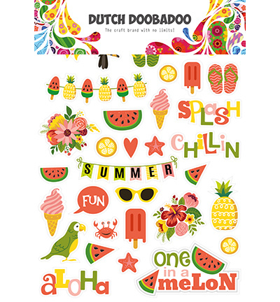 474.007.008 Dutch DooBaDoo Dutch Paper Art Summer