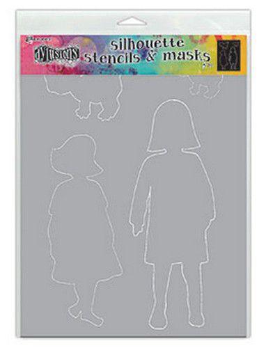DYS75356 Ranger Dylusions Stencils Silhouette Edith