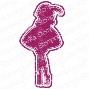 565543 Stamping Bella Cut It Out Dies Curvy Girl With A Newborn