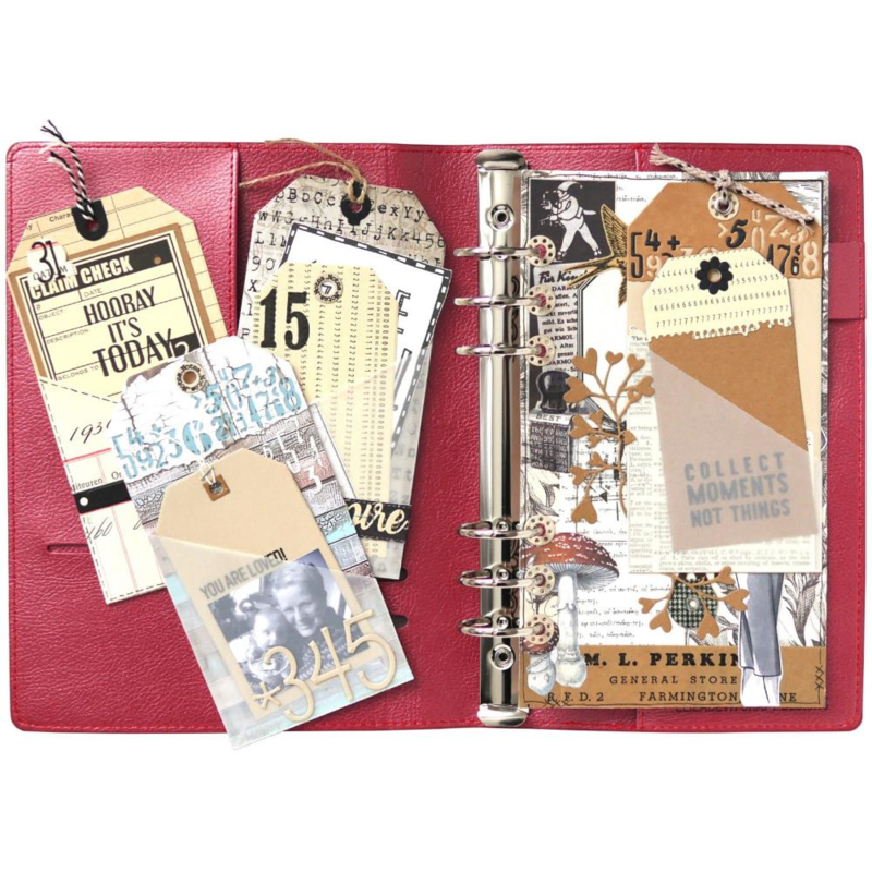 EC1744 Elizabeth Craft Metal Die Planner Pocket 4