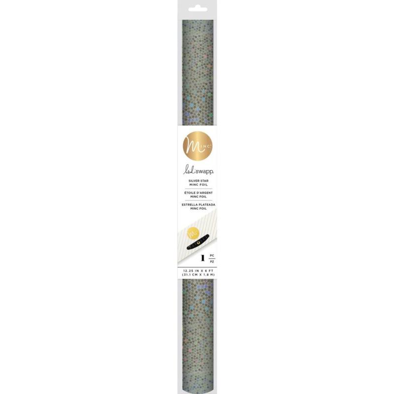 "620812 Heidi Swapp Minc Specialty Reactive Foil Silver Star 12.25"""