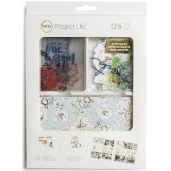 500525  Project Life Value Kit Heidi Swapp -September Skies W/Gold Foil