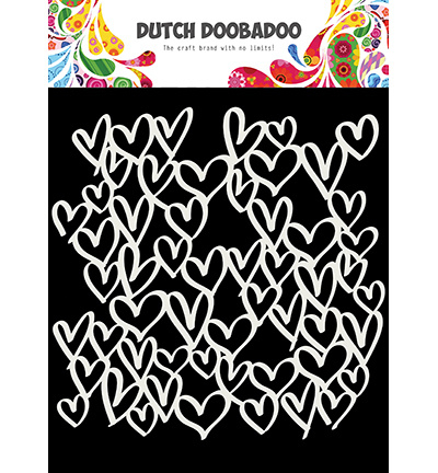 470.715.623 Dutch DooBaDoo Mask Art hearts
