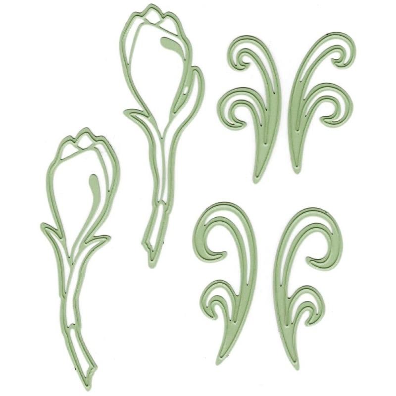458565 Lea`bilities Cut & Emboss Dies Multi Flower
