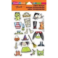 405235 Stampendous Fran's Perfectly Clear Stamps Costume Stack