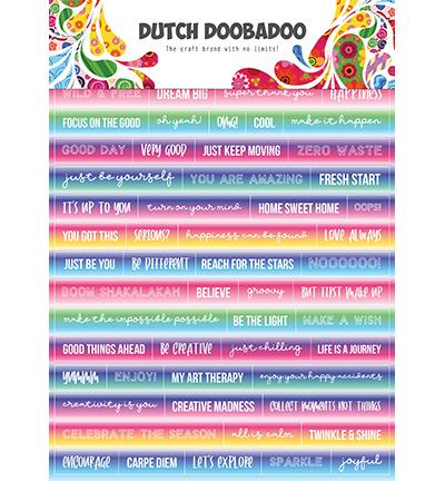 491.200.015 - DDBD Dutch Sticker Art Text Mandalas