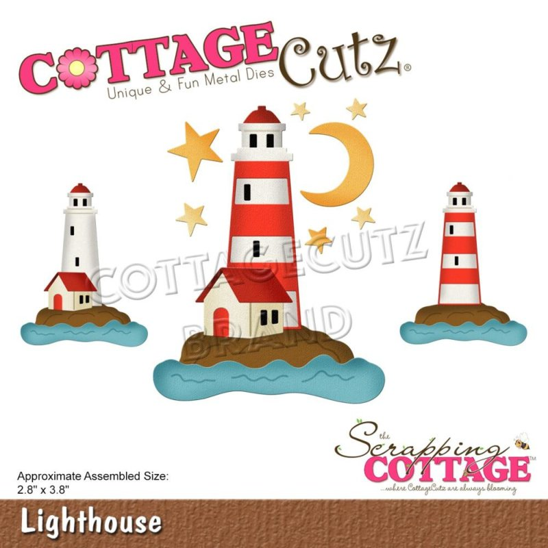 "CC759 CottageCutz Dies Lighthouse 2.8""X3.8"""