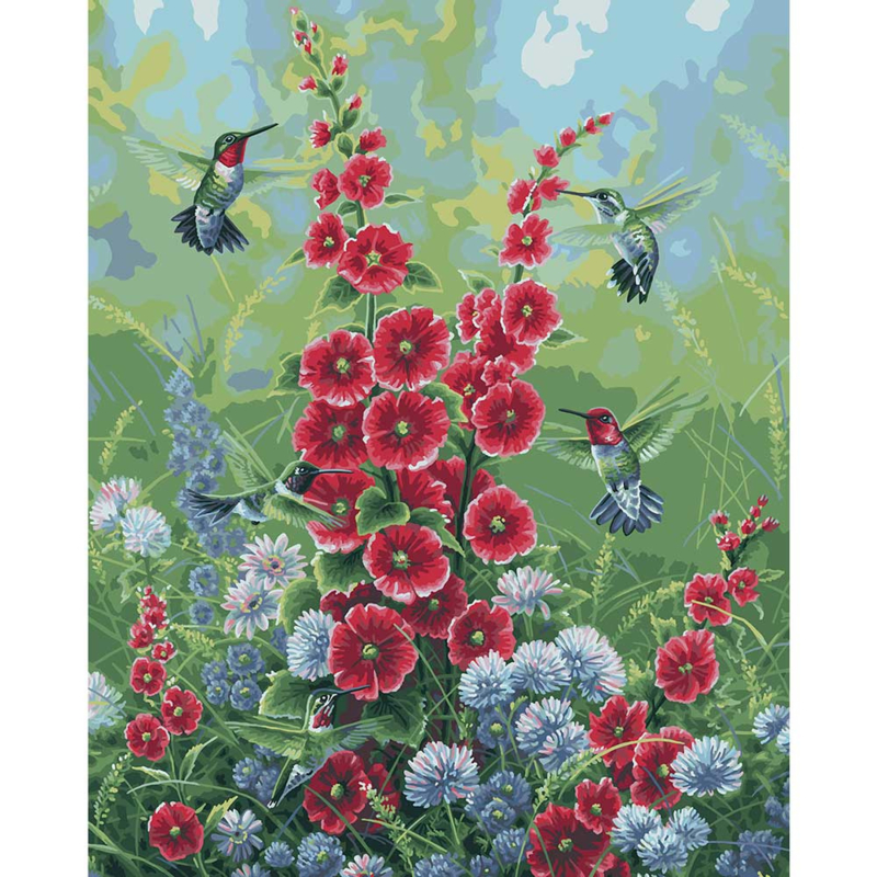 """558012 Paint By Number Kit Joy Of Summer 16""""X20"""""""