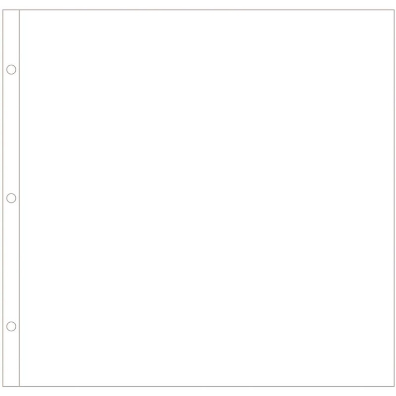 "040146 Project Life Page Protectors 12""X12"" 60/Pkg  Big Pack"