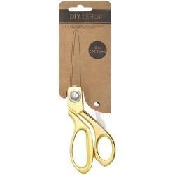 """520604 American Crafts Cutup Scissors Gold Metal 8"""""""