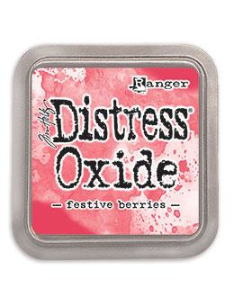 TDO55952 Tim Holtz Distress Oxide Ink Pad Festive Berries