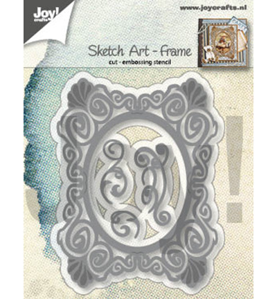 6002/1292 Cutting & embossing Sketch Art Frame