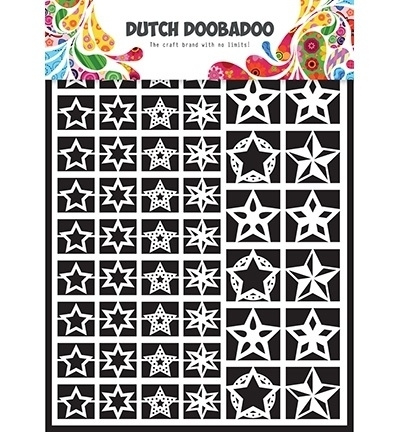 472948005 Dutch Doobadoo Laservel Stars