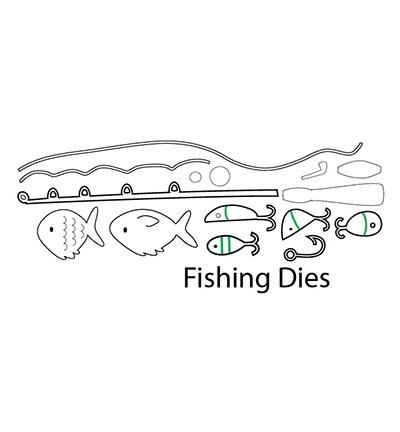 CCC75 C.C.Designs Die Fishing