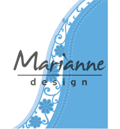 LR0518Marianne Design Creatables Anja's flower wave