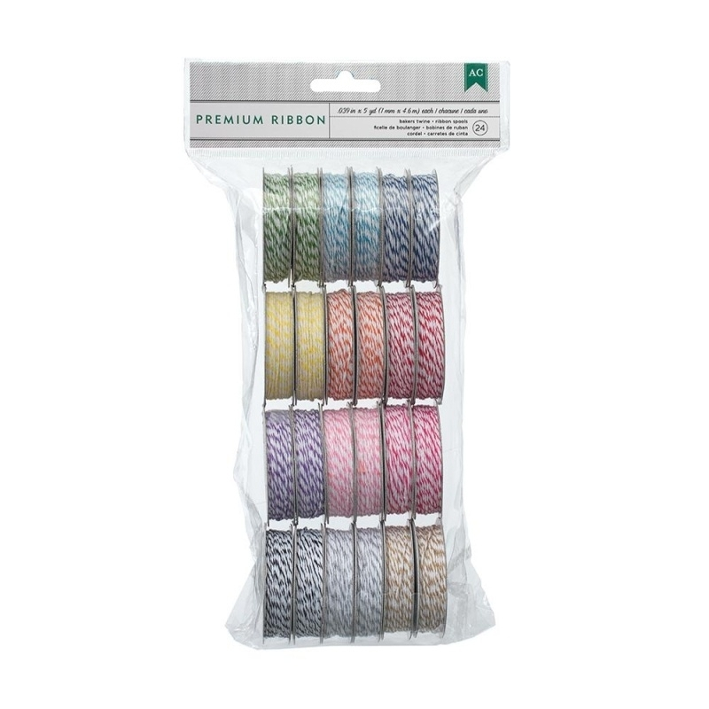 275205 Value Pack Baker`s Twine Bright Colors