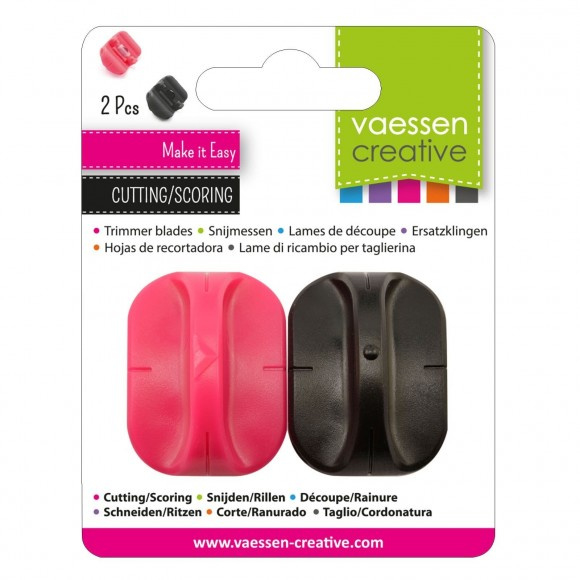 2207-107Vaessen Creative spare cutting blade + scoring blade for paper trimmers
