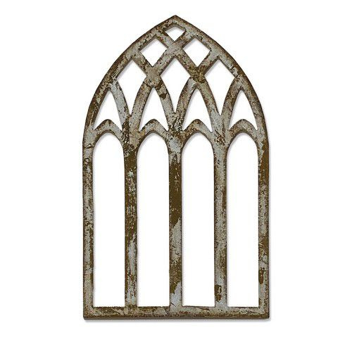 664974 Sizzix Bigz Die  Cathedral Window  Tim Holtz