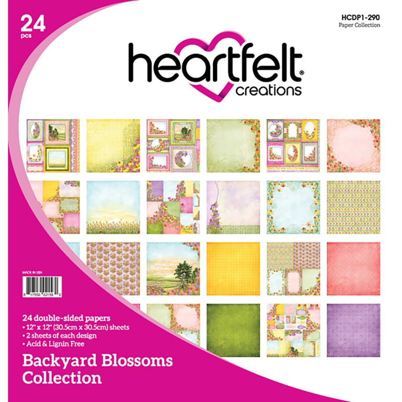 034286 HCDP1 290  Heartfelt Creations Double-Sided Paper Pad