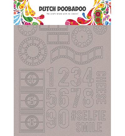 492.006.004 Dutch DooBaDoo Greyboard Art Filmstrip