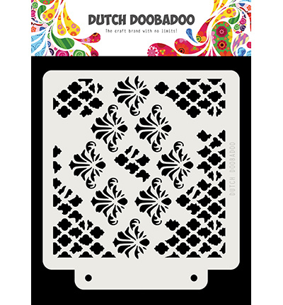 470.715.166 Dutch DooBaDoo Dutch Mask Grunge barroque