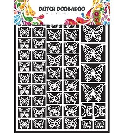 472948007 Dutch Doobadoo Laservel Butterflies