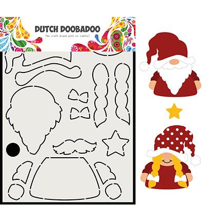 470.713.815 Dutch DooBaDoo Card Art Built up Gnome