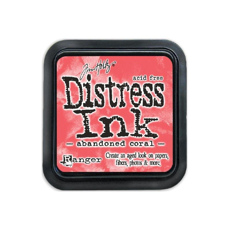 377635 Tim Holtz Distress Ink Pad Shaded February-Abandoned Coral