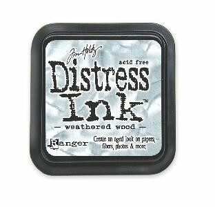 TIM20257 Distress Inkt Pad Weathered Wood