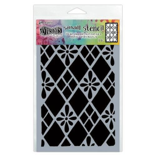 DYS75295 Ranger Dylusions Stencils Diamond Are Forever Small