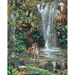 """352774 Paint By Number Kit  Enchanted Valley 16""""X20"""""""