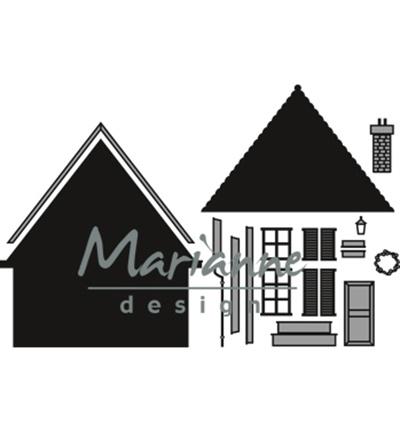 CR1437 Marianne Design Craftables Build-a-house