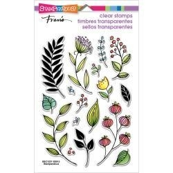 518996 Stampendous Perfectly Clear Stamps Fronds