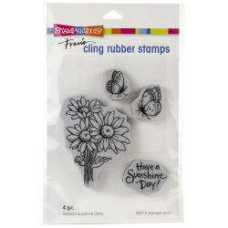 580540 Stampendous Cling Stamp Sunshine Daisy