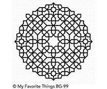 BG-99 My Favorite Things Background stempel Moroccan Mosaic