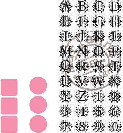 COL1380 Collectable Vintage Alphabet